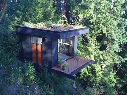 Urządź mieszkanie: Małe biuro, piękne widoki