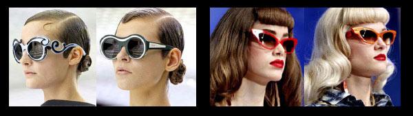Vintage okulary