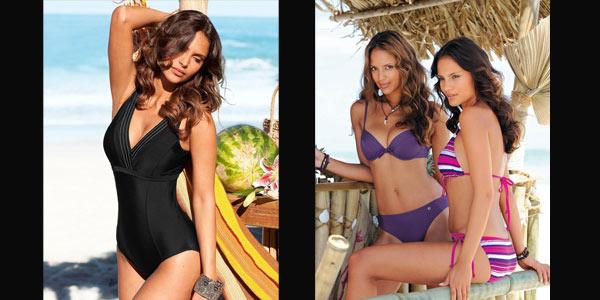 modne kostiumy kąpielowe lato 2011