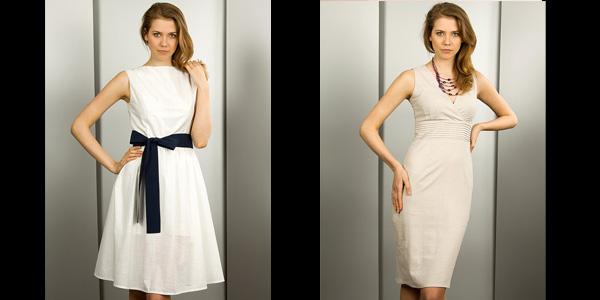 Every Nature białe sukienki bluzki