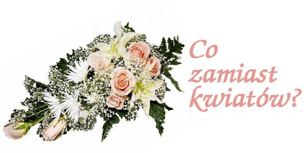 Kwiaty Prezenty Kwiaty na Ślub Prezenty