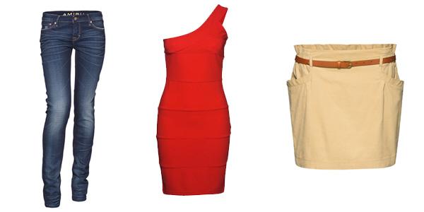Newyorker Amisu Fishbone jesień zima 2011 2012 spodnie sukienki