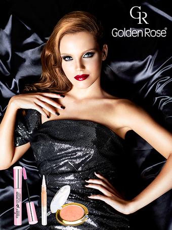 Makijaż na wieczór, Golden Rose