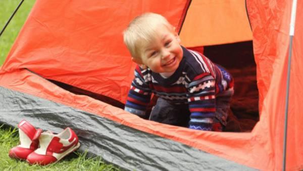 Pod namiot z niemowlakiem? TAK czy NIE?
