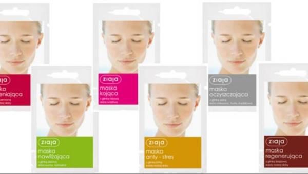 Maski z glinkami do twarzy: nowość od firmy Ziaja – przegląd