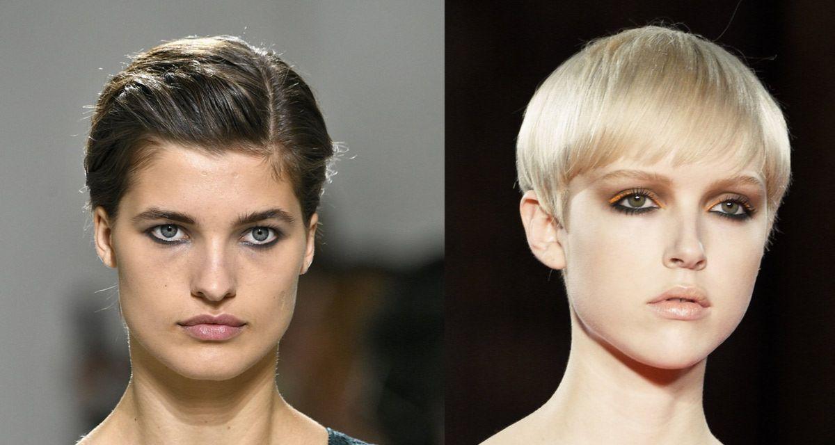 Modne Fryzury Na Krótkie Włosy A Także Na Długie I Półdługie