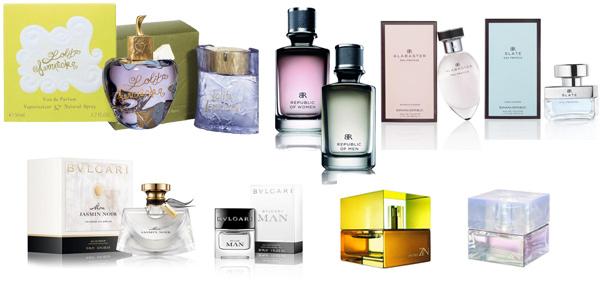 perfumy damskie i męskie