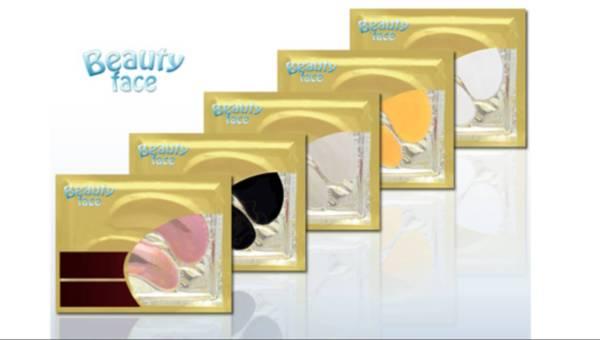 Płatki pod oczy BeautyFace – Naturalny kolagen