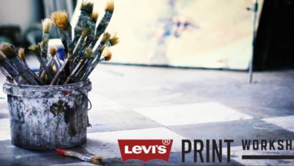 Jedziesz do Berlina? Weź udział w Levi?s Print Workshops!