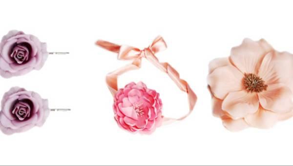 Diva – Garden Party – Romantyczne kwiatowe ozdoby do włosów