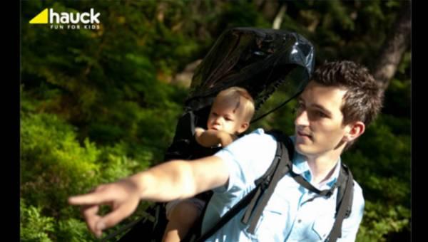 Hauck Backpack Exlorer – Nosidełko turystyczne idealne na wakacyjne podróże