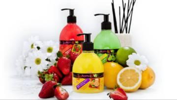 Kolorowe mydła KoroLOVE z delikatnym peelingiem od Laboratorium Kosmetycznego Joanna