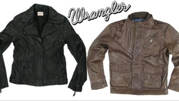 Miłość w skórzanej kurtce na Walentynki proponuje Wrangler