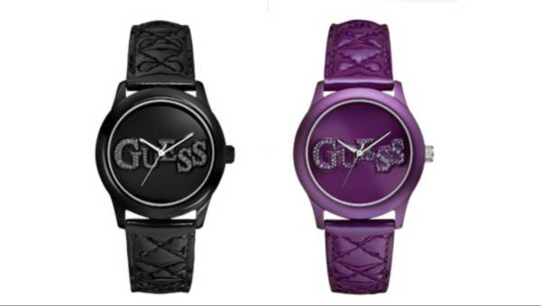 Pikowane zegarki od Guess