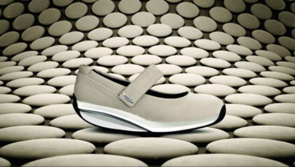 Zdrowe chodzenie w butach MBT