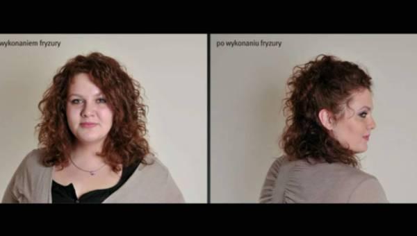 Fryzura z kręconych włosów – w kilka minut