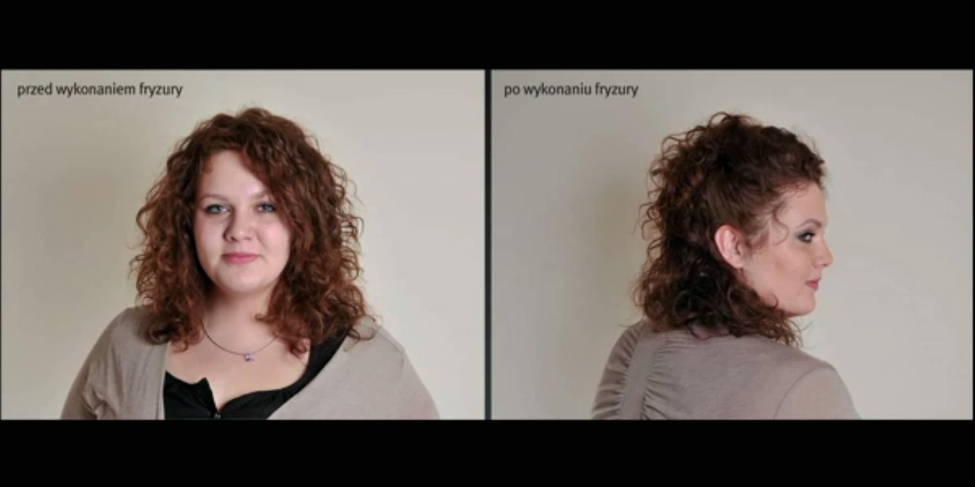 Fryzura Z Kręconych Włosów W Kilka Minut Kobietamagpl