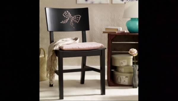 Udekoruj swój dom – Jak zrobić krzesło z kokardką