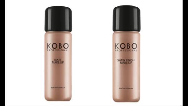 Dwa nowe odcienie podkładów KOBO Professional