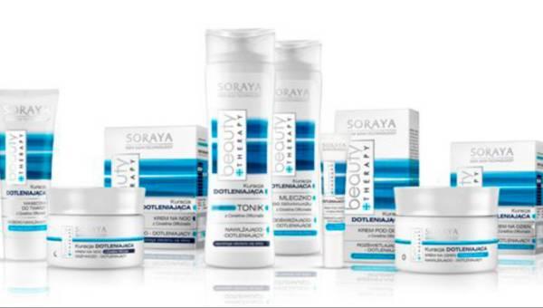 Kosmetyki do pielęgnacji twarzy BEAUTY THERAPY ? KURACJA DOTLENIAJĄCA od Soraya