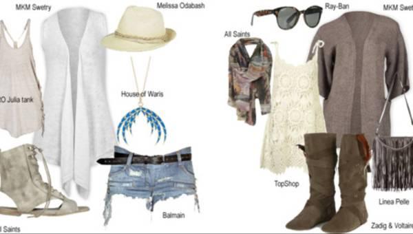 Modowe stylizacje na festiwale muzyczne