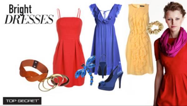 Top Secret – Lato 2011- Moda na sukienki