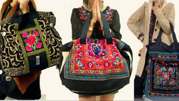 Wyjątkowe torby o etnicznym charakterze dla wyjątkowych kobiet