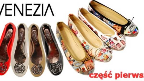 Venzia: kolekcja wiosna-lato 2011. Część 1- sandały, czółenka, baleriny (ponad 100 zdjęć)