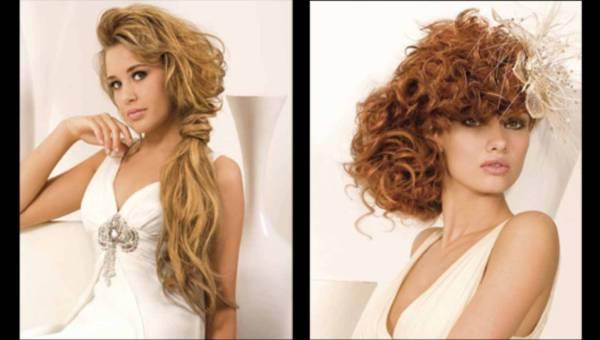 Fryzury ślubne długie włosy