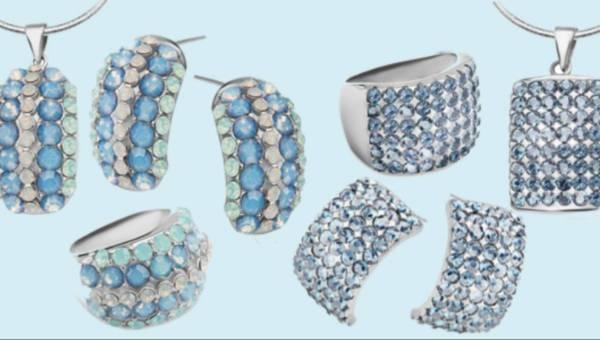 Biżuteria w odcieniach błękitu