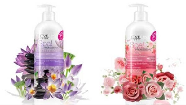 Nawilżaj i ujędrniaj – nowe balsamy SPA! PROFESSIONAL od Eveline Cosmetics