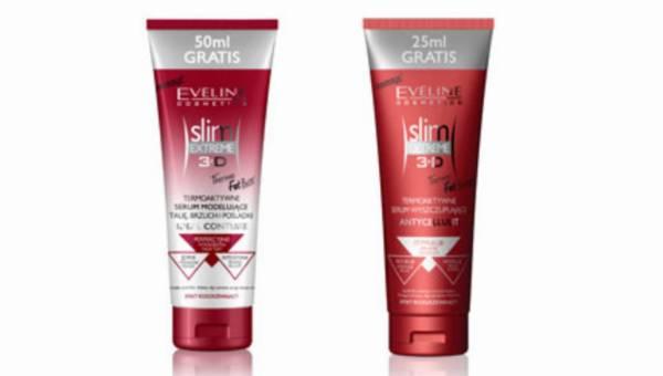 Eveline Cosmetics – termoaktywne kosmetyki rozgrzewające 3D Slim Extreme