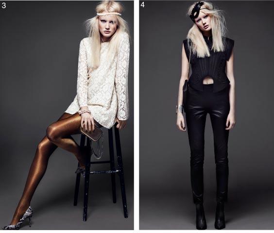 H&M wieczorowe stylizacje