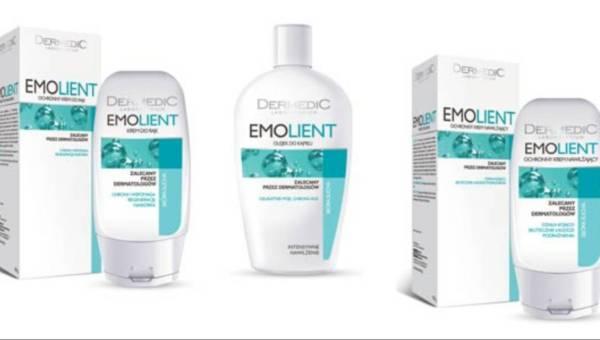 Nowa linia Dermedic EMOLIENT ? łagodzi nieprzyjemne objawy suchości skóry