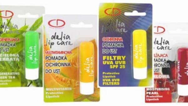 Delia Cosmetics prezentuje linię pomadek ochronnych