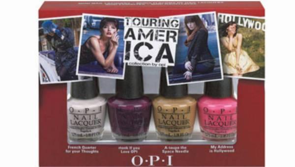 Nowe kolory lakierów O.P.I w kolekcji Touring America