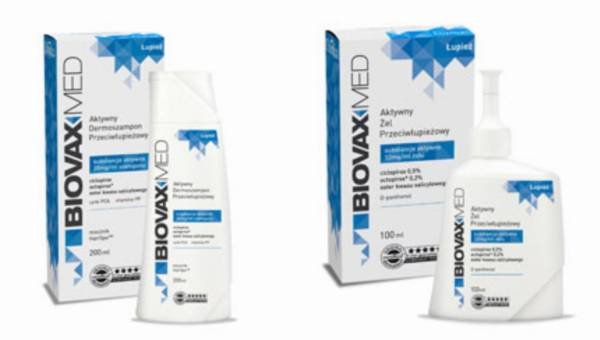 BiovaxMed: dermo-kosmeceutyki do skutecznej kuracji przeciwłupieżowej