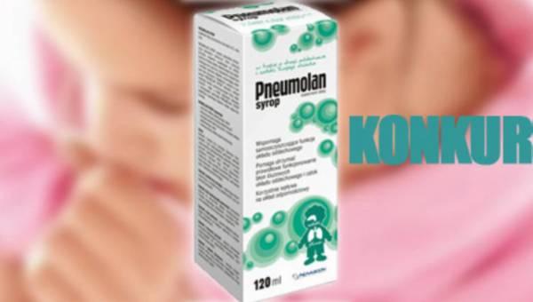 Konkurs: Pneumolan – w trosce o drogi oddechowe i zatoki Twojego dziecka