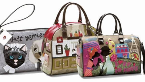 Wyszukane torebki w zimowej kolekcji TUA by Braccianili