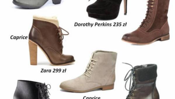 Wielki trend na buty sznurowane na sezon: zima 2012