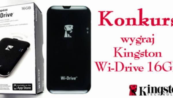 """Konkurs: """"Podaruj  swojemu IPhonowi więcej pamięci na święta"""" – wygraj przenośną pamięć Kingston Wi-Drive"""