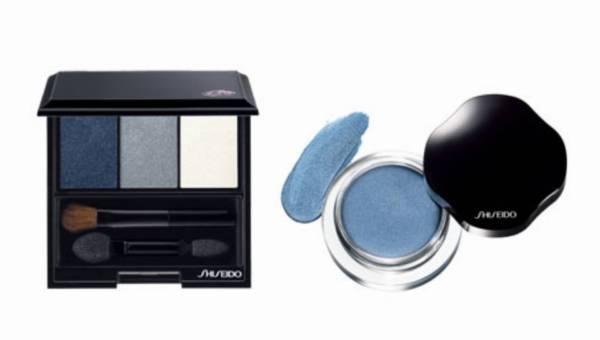 Karnawałowy makijaż w kolorze niebieskim