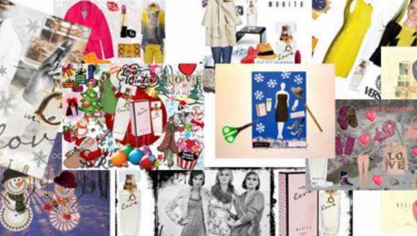 Wasze prace na konkurs: Zima z perfumami With Love od Mohito