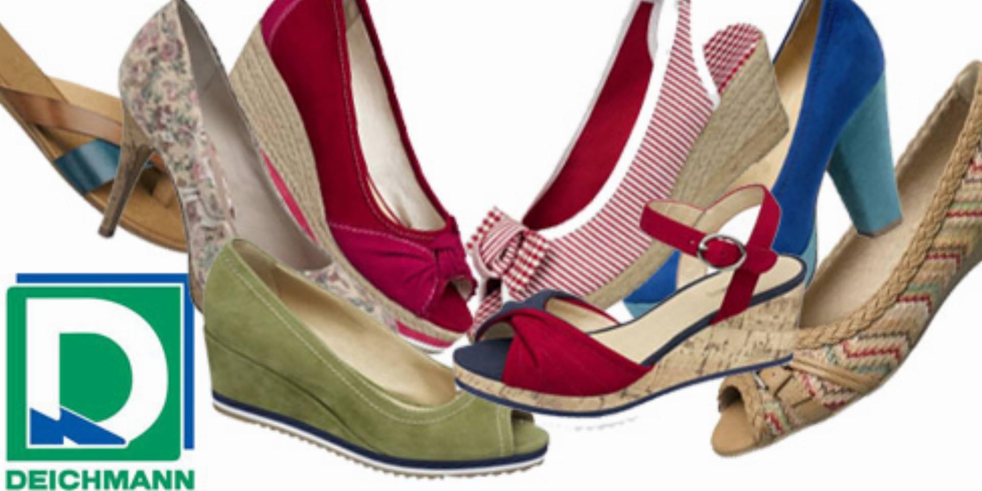 b2a6fe7e Deichmann buty - nowa kolekcja wiosna lato 2012: sandały, baleriny ...