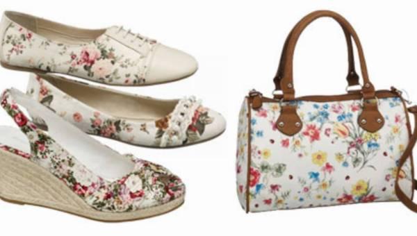 Kwiatowe wzory, czyli buty Deichmann wiosna 2012!