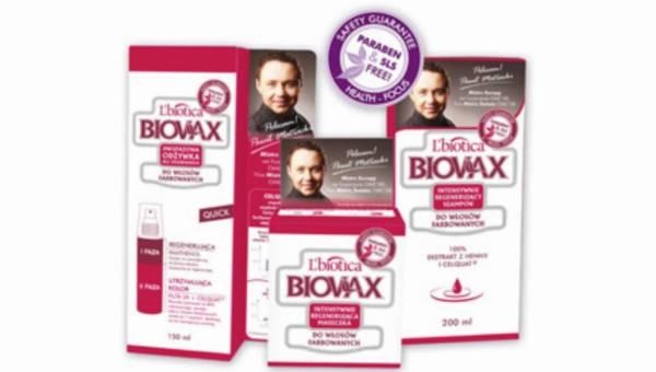 Nowatorska seria produktów BIOVAX do włosów farbowanych