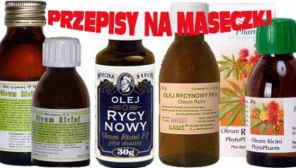 Olej rycynowy na włosy – przepisy, część 2