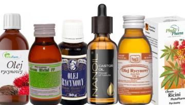 Olejek rycynowy na włosy, brwi, skórę … Jak stosować olejek rycynowy?