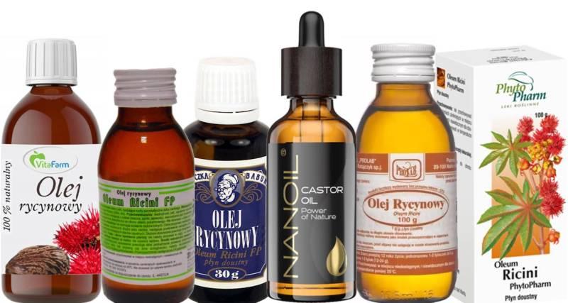 olejek rycynowy na porost włosy