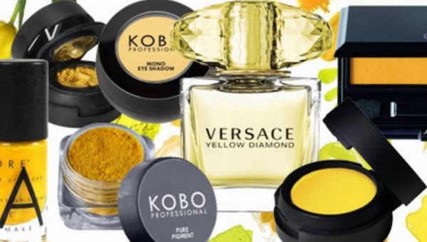 Żółty makijaż – czyli kosmetyki w kolorze słońca (14 zdjęć energetyzujących makijaży)